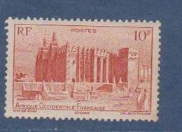 A  O  F        N°  YVERT  :    39      NEUF AVEC  CHARNIERES      ( Ch 1/11  ) - A.O.F. (1934-1959)