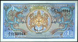 BHUTAN - 1 Ngultrum 1986 UNC P.12 - Bhoutan
