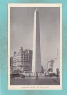 Small Post Card Of El Obelisco,City Of Buenos Aires, Argentina,Q106. - Argentina
