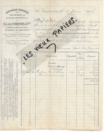 02 - Aisne - VAUCIENNES - Facture DE CORNOIS - Raffinerie Agricole - 1908 - REF 118A - 1900 – 1949