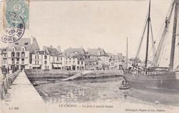 Le Croisic ( 44 Loire Atlantique )  Le Port A Marée Basse - Le Croisic