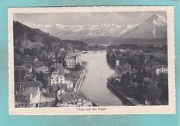 Small Post Card Of Thun, Berne, Switzerland,Q107. - BE Berne