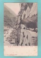 Small Post Card Of Verbania Strada Del Sempione Galleria Presso Iselle,Q107. - Italy