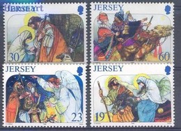 Jersey 1997 Mi 760-763 MNH ( ZE3 JRS760-763 ) - Jersey