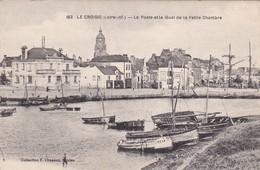 Le Croisic  ( 44 Loire Atlantique )  La Poste Et Le Quai De La Petite Chambre - Le Croisic
