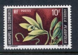 Comoro Is 1969 Flowers 10f MUH - Comores (1975-...)