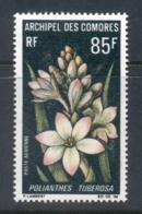 Comoro Is 1969 Flowers 85f MUH - Comores (1975-...)