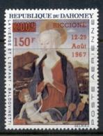 Dahomey 1967 Riccione Stamp Ex. Opt. MUH - Benin - Dahomey (1960-...)