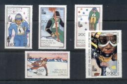 Congo PR 1979 Winter Olympics Lake Placid MUH - Congo - Brazzaville