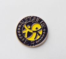 Pin's Aumonerie - 18A - Pins