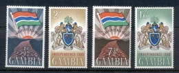 Gambia 1965 Independence MUH - Gambia (1965-...)