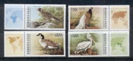 Burkina Faso 1996 Birds + Labels MUH - Burkina Faso (1984-...)