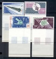 Upper Volta 1967 French Space Satellites MUH - Upper Volta (1958-1984)