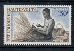 Upper Volta 1968 Basket Weaver MUH - Upper Volta (1958-1984)