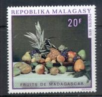 Madagascar 1970 Fruits Of Madagascar MUH - Madagascar (1960-...)