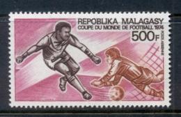 Madagascar 1974 World Cup Soccer Munich MUH - Madagascar (1960-...)