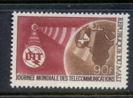 Mali 1970 World Telecommunications Day MUH - Mali (1959-...)