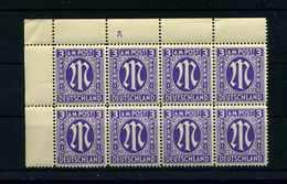 BIZONE 1945 Nr 10 AZ Postfrisch (106074) - Zone Anglo-Américaine