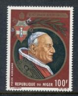 Niger 1965 Pope John XXIII MUH - Niger (1960-...)