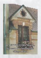 HAUTVILLERS MARNE - BERCEAU DU CHAMPAGNE, VILLAGE FLEURI - PAP ENTIER POSTAL 2009 - VOIR LES SCANNERS - Vins & Alcools