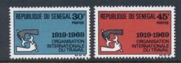 Senegal 1969 ILO 50th Anniv. MUH - Senegal (1960-...)
