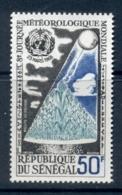 Senegal 1968 World Meterological Day MUH - Senegal (1960-...)