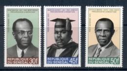 Senegal 1970 Prominent Negro Leaders MUH - Senegal (1960-...)