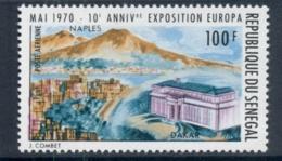Senegal 1970 Naples Philatelic Exhibition MUH - Senegal (1960-...)