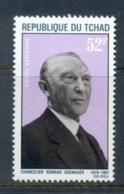 Chad 1968 Konrad Adenauer Muh - Chad (1960-...)