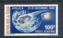 Chad 1969 Apollo 8 Space Mission MUH - Chad (1960-...)