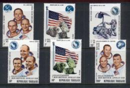 Togo 1970 Apollo 13 Astronauts MUH - Togo (1960-...)