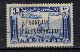 ALEXANDRETTE     N°  YVERT   PA 4    OBLITERE       ( O   2/ 02  ) - Alexandrette (1938)