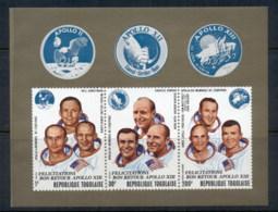Togo 1970 Apollo 13 Astronauts MS MUH - Togo (1960-...)