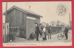 Momignies - Une Visite à La Douane ... éditeur Au Verso - 1907 ( Voir Verso ) - Momignies