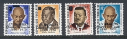 Togo 1971 Charles De Gaulle Opts, Gandhi MUH - Togo (1960-...)
