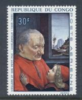 Congo PR 1968 Paintings 30f Grandfather & Grandson MUH - Congo - Brazzaville