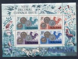 Malawi 1971 Decimal Currency MS MUH - Malawi (1964-...)