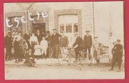 Momignies - Devanture D'estaminet , Café - Carte Photo à Situer - Juillet 1911 ( Voir Verso ) - Momignies