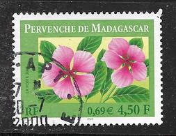 FRANCE 3306 Pervenche De Madagascar Flore Fleur Flower. - France