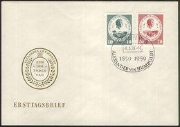 DDR 1958 Mi-Nr. 684/85 FDC - DDR