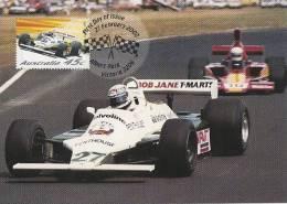 Australia-2002 Motor Racing  Alan Jones And Williams FW07 Ford, 1980,   Maximum Card - Cars