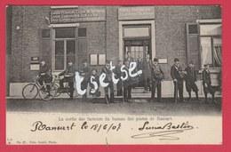 Ransart - Top Carte - La Sortie Des Facteurs Du Bureau Des Postes - 1907 ( Voir Verso ) - Charleroi