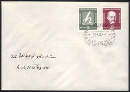 DDR 1958 Mi-Nr. 626/27 FDC - FDC: Briefe