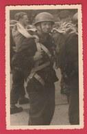 Parachutiste Belge ... Carte Photo ... Années 50 ( Voir Verso ) - Regimenten