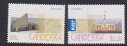 Australia ASC 3080-3081 2013 Centenary Of Canberra,mint Never Hinged - 2010-... Elizabeth II
