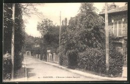 CPA Garches, L'Avenue Léonce-Bucquet - Garches
