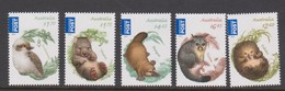 Australia ASC 3087-3091 2013 Bush Babies Part II ,mint Never Hinged - 2010-... Elizabeth II