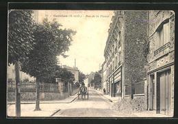 CPA Garches, Rue De La Plaine - Garches