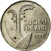 Monnaie, Finlande, 10 Pennia, 1990, TB+, Copper-nickel, KM:65 - Finlande