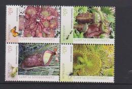 Australia ASC 3128-3131 2013 Carnivorous Plants,mint Never Hinged - Ungebraucht